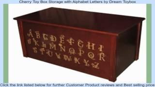 Baixar Cherry Toy Box Storage with Alphabet Letters by Dream Toybox