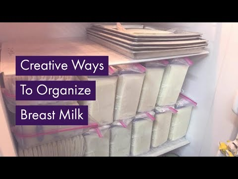 Freezer Hacks to Organize Breast Milk for Donation