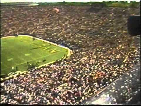 The wave at Michigan Stadium 1984