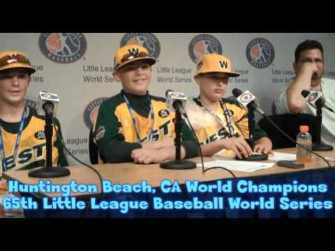 Ocean View Little League, Huntington Beach CA, Wins 2011 Baseball World Series