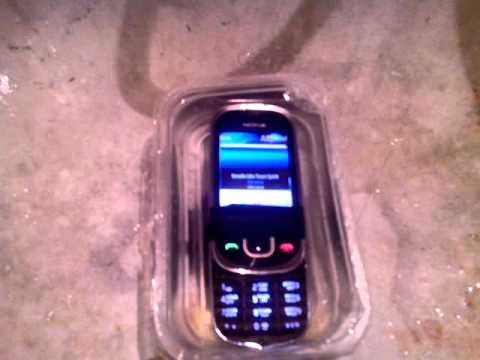 Nokia 7230 water test