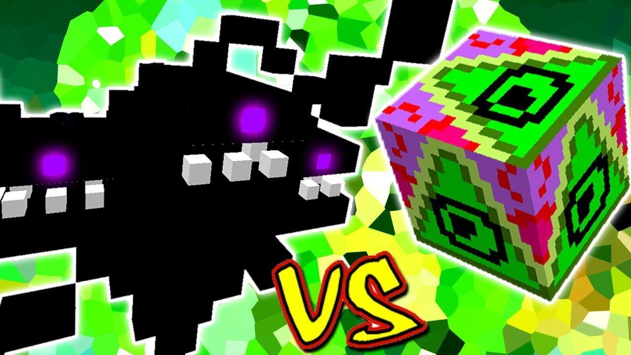 Wither Storm Vs Lucky Block Claze Minecraft Lucky Block