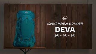Women's Deva   Backpacking // Gregory Packs
