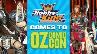 Hobbyking Comes To Oz Comic-Con