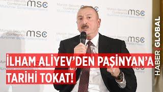 Azerbaycan Cumhurbaşkanı İlham Aliyev'den Ermenistan Başbakanı Nikol Paşinyan'a Tarihi Tokat!