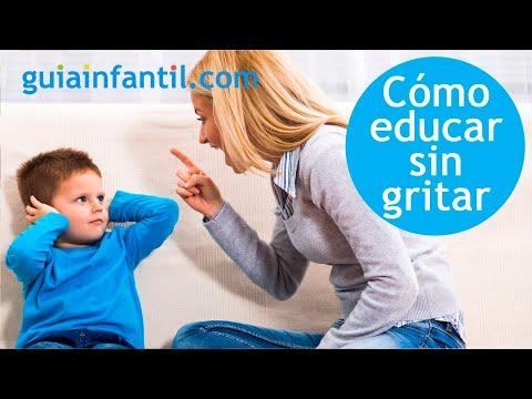 8 métodos para educar a los niños sin gritar