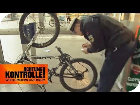 Verdächtiger Mann: Hat er das teure Fahrrad geklaut? | Achtung Kontrolle | kabel eins