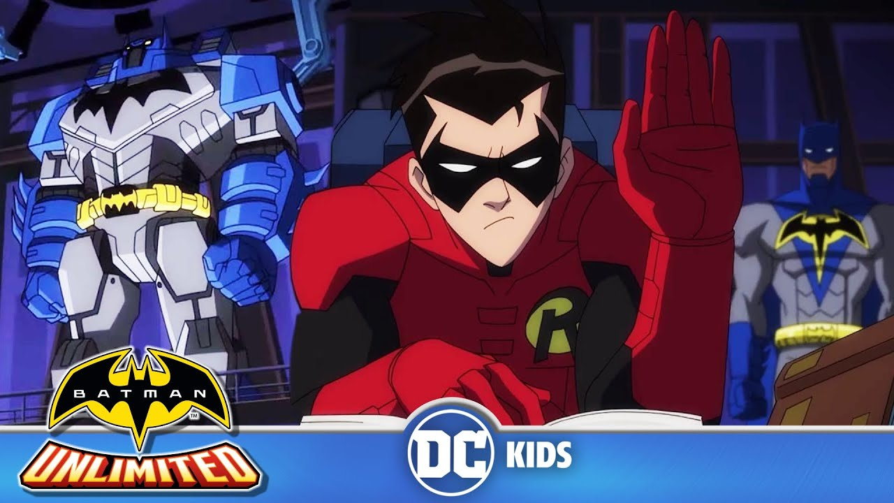 Batman Unlimited en Latino | El aprendiz accidentado | DC Kids