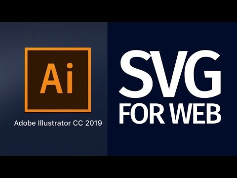 Export SVG for the web