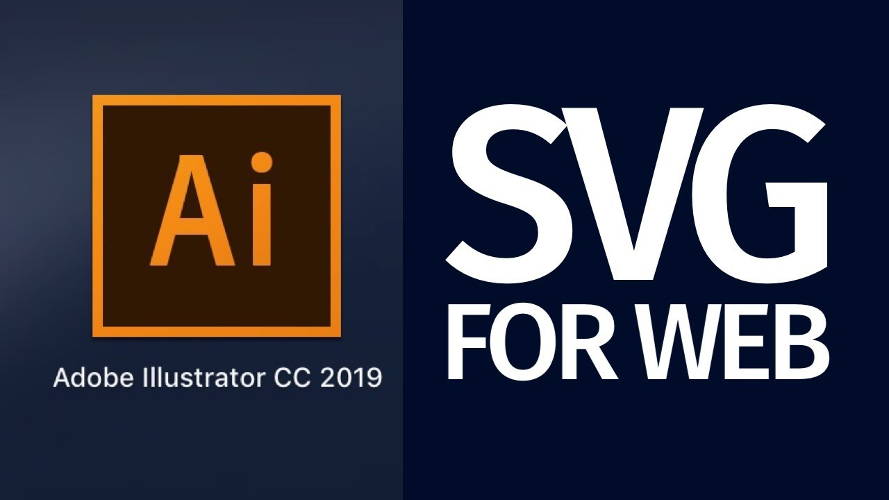 How to Export SVG for the web with Illustrator CC 2019   ready for  Dreamweaver, Muse, and other