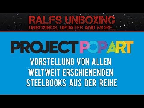 Alle PROJECT POP ART Steelbooks - VORSTELLUNG