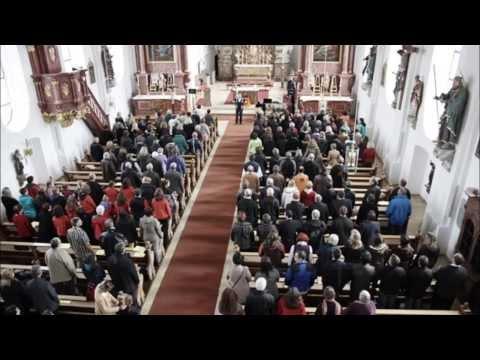Kolping Chorprojekt mit Pater Becker 2013 in Wertach