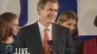 George W Bush vs  Ann Richards  1994 Midterms Election Night Coverage