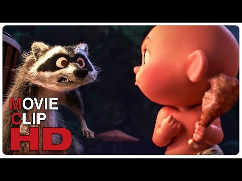 Jack Jack Vs Raccoon - Fight Scene | INCREDIBLES 2 (2018) Movie CLIP HD en streaming