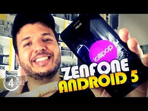 Zenfone 5 com Android 5.0 Lollipop (Português)
