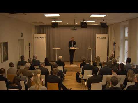 Frida Granath och Björn Fägersten på Frivärlds rapportlansering 'Ett ensamt Europa?'