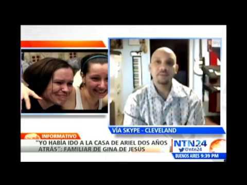 Habla en NTN24 familiar de Gina de Jesús, una de las tres mujeres secuestradas en Cleveland'