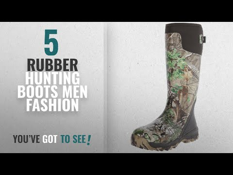 Top 10 Rubber Hunting Boots [Men Fashion Winter 2018 ]: LaCrosse Men's Alphaburly Pro 18