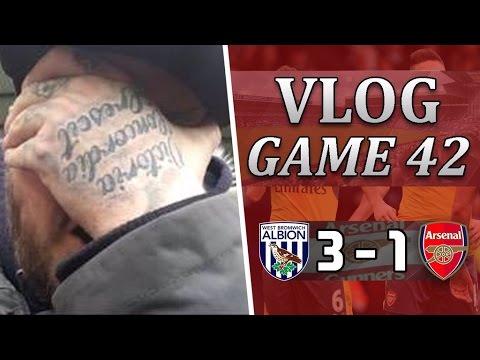 West Brom 3 v 1 Arsenal | It's Time To Say Goodbye Arsene | Matchday Vlog | Game 42