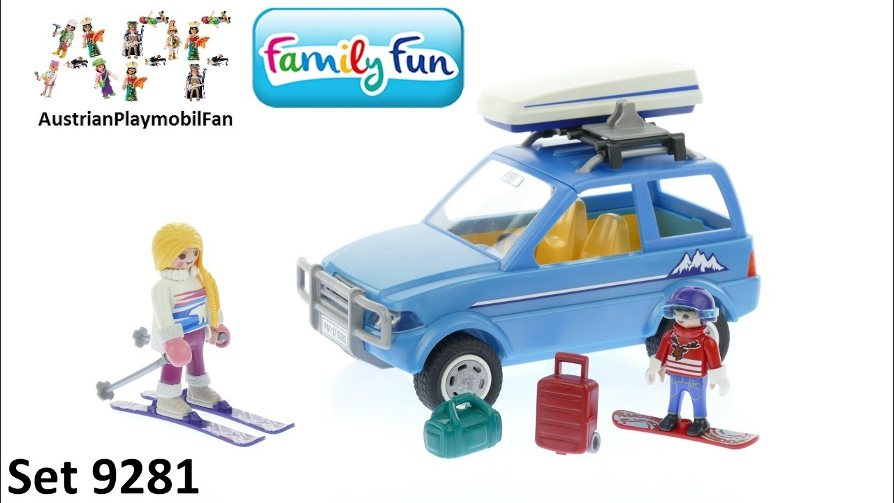 Playmobil Family Fun 9281 Auto Mit Dachbox Playmobil Build Review Youtube