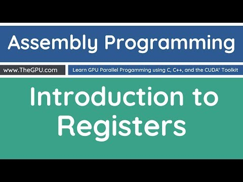 Learn Assembly Programming - Introduction to Registers - YouTube