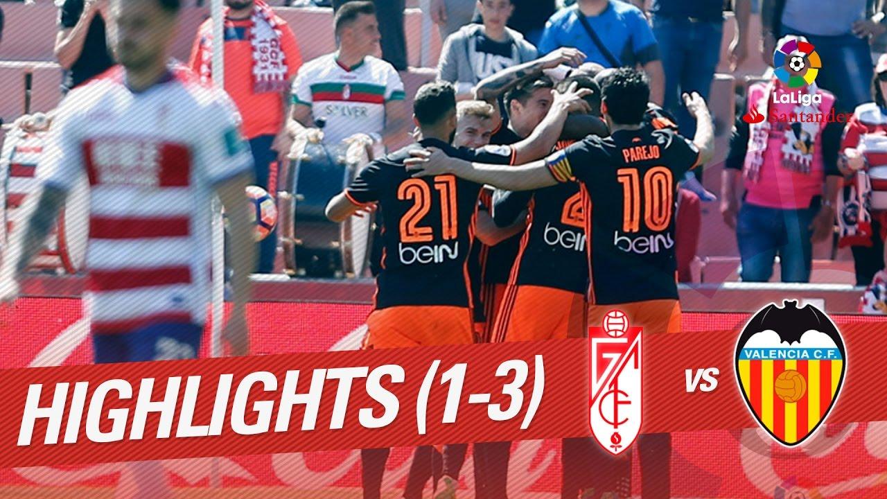 Download Resumen de Granada CF vs Valencia CF (1-3)