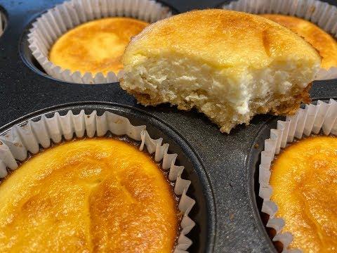 mini-cheese-cake-au-citron-cétogène!-gateau-au-fromage-cétogène.-keto