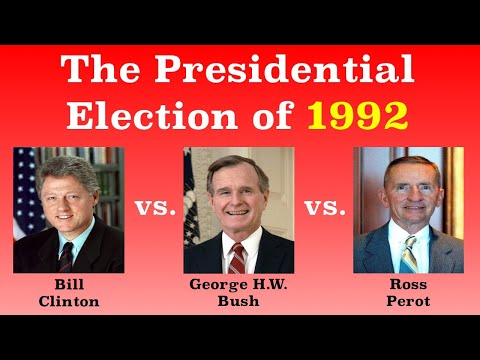 The American Presidential Election of 1992