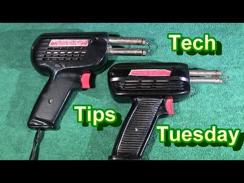 Tech Tips Tuesday, Super Hot Soldering Gun