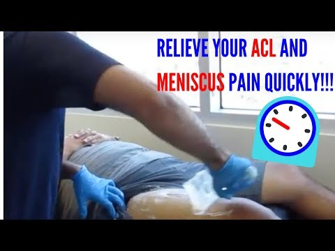 ACL Reconstruction & Meniscus Repair Pain Relief with ASTR!