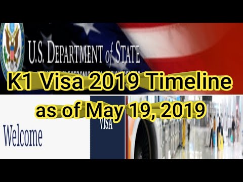 K1 Visa 2019 Timeline As Of May 19, 2019 (English) | Team Taylor Channel