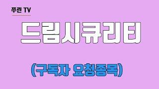 드림시큐리티(구독자요청종목)