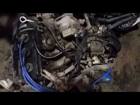 Used Japanese engine for Japanese mini truck -Mitsubishi Minicab