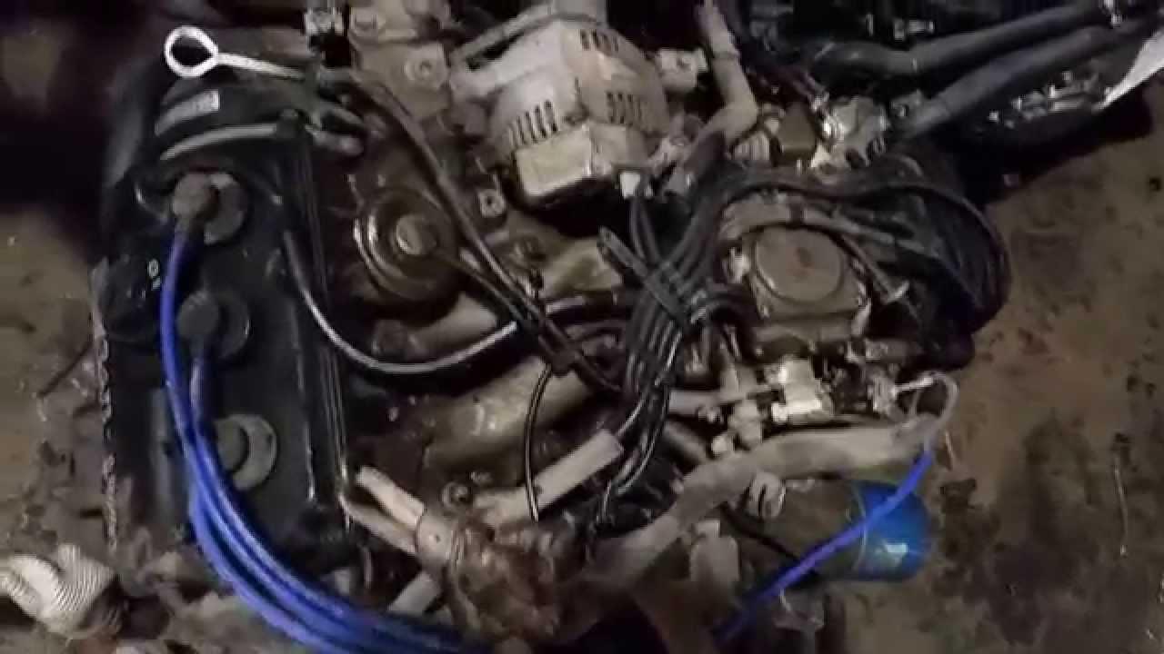 used japanese engine for japanese mini truck mitsubishi minicab youtube [ 1280 x 720 Pixel ]