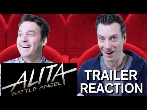 Alita: Battle Angel - Official Trailer Reaction