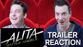 Alita: Battle Angel - Official Trailer Reaction