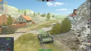 world of tanks blitz (взводик с желающими понагибать)