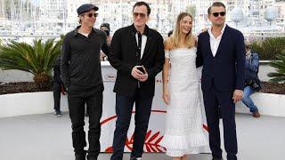 Neuer Tarantino-Film mit DiCaprio, Pitt und Robbie in Cannes präsentiert