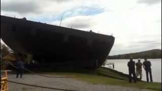 Trinity Marine Barge Launch