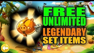Angry Birds EPIC *Unlimited* Legendary Set Items Cheat November 2014 UPDATE