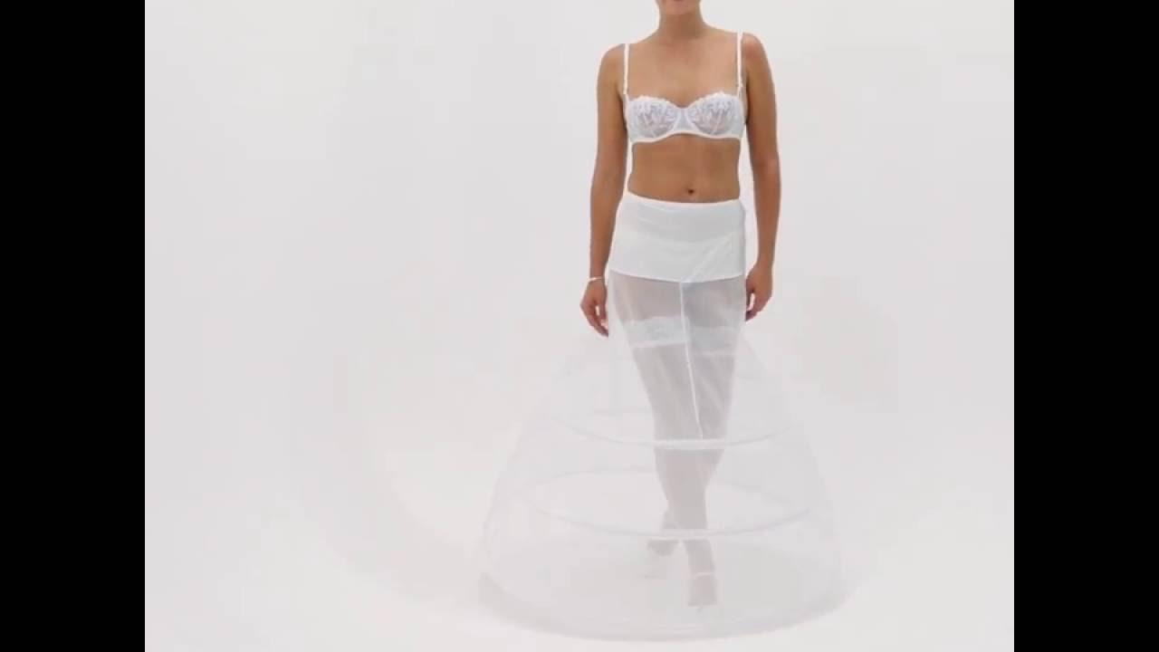 jupon mariage 3 cerceaux circonfrence 320cm vitalia - Jupon Mariage 3 Cerceaux