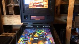 Virtual Pinball Machine based on Space Invaders Pinball Cabinet