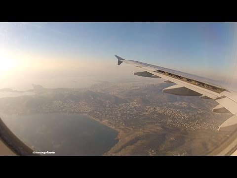 Beautiful Afternoon Landing In Athens - Aegean Airlines A321 SX-DVP