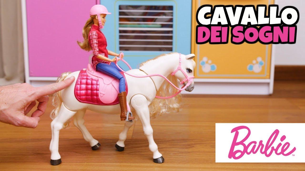 Il Cavallo Dei Sogni Di Barbie Balla Segue La Voce E Gioca Youtube