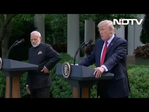 PM Modi, President Trump's Joint Statement To Media At White House