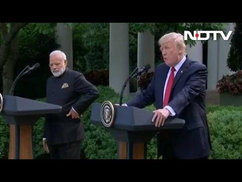 PM Modi, President Trump