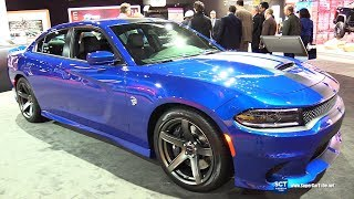 2018 Dodge Charger SRT Hellcat - Exterior and Interior Walkaround - 2018 New York Auto Show