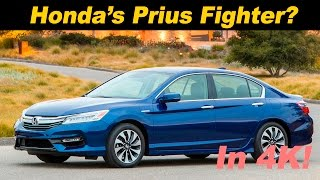 2017 Honda Accord Hybrid Review and Road Test - DETAILED in 4K UHD!!