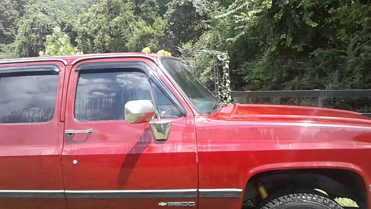 All Chevy 1991 chevy 3500 : 1991 Chevy v3500 for sale - YouTube