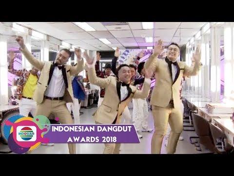 YOAYOOO!! Goyang Bareng Host Indonesian Dangdut Awards 2018